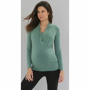 SOLD OUT Long Sleeve Mia Maternity & Nursing Top by Mayreau-FINAL SALE