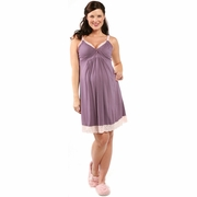 SOLD OUT  Lotus Lace Nursing & Maternity Nightie by Belabumbum