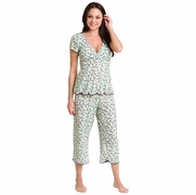 SOLD OUT Majamas Lace Cropped MJ Nursing Pajamas - FINAL SALE
