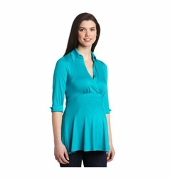 SOLD OUT Maternal America 3/4 Sleeve Maternity Top