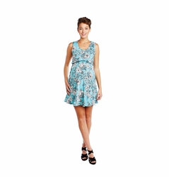SOLD OUT Maternal America Floral Maternity And Nursing Empire Dress