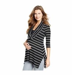 SOLD OUT Maternal America Maternity Nursing Cowl Neck Top