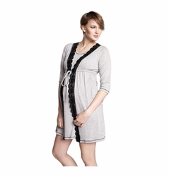 SOLD OUT Maternal America Nursing & Maternity Pajama Robe/Gown