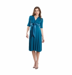 SOLD OUT Maternal America Satin Front Dress