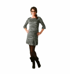 SOLD OUT Maternite Boat Neck Jersey Knit Dress