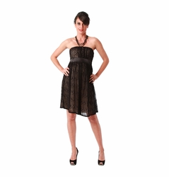 SOLD OUT Maternite Lace Maternity Tube Cocktail Dress