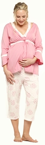 SOLD OUT Maternity & Nursing Pajama Set by Belabumbum