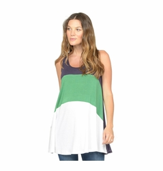 SOLD OUT NOM Liz Colorblock Maternity Tank Top