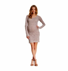 SOLD OUT NOM Maternity Clare Loose Knit Dress
