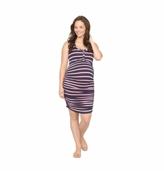 SOLD OUT NOM Maternity Nursing Snap Tank Dress