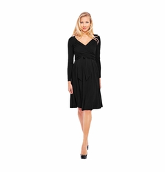 SOLD OUT Olian Lucy Long Sleeve Maternity Wrap Dress