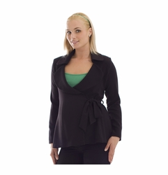 SOLD OUT Olian Maternity Side Tie Suit Jacket