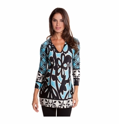 SOLD OUT Olian Mia Floral print Maternity Tunic