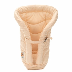 TEMPORARILY OUT OF STOCK Organic Infant Insert For Ergo Carriers - Blush Beige by Ergobaby