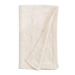 SOLD OUT  Organic Knit Blanket by Dwell Studio