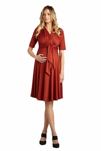 SOLD OUT Original Front Tie Maternity Dress by Maternal America