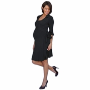 SOLD OUT Paige Maternity & Nursing Wrap Dress by Mayreau