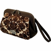 SOLD OUT  Petunia Pickle Bottom Chocolate Decadence Cake Cameo Clutch Diaper Bag