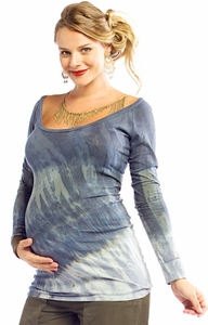 SOLD OUT Piper Maternity Tee by NOM Maternity
