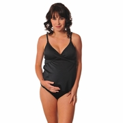 Prego Maternity Wrap Tankini Swimsuit