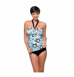 SOLD OUT Prego V-Kini Maternity Tankini Swimsuit - Sea Breeze