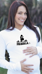 "SOLD OUT ""Pregzilla"" Maternity Hoodie by 2 Chix"