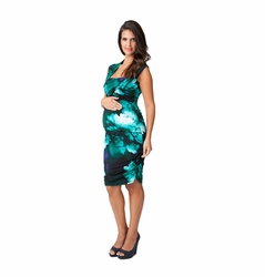 SOLD OUT Ripe Harper Tropical Maternity And Nursing Dress
