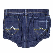 SOLD OUT RuggedButts 2-Pocket Denim Bloomer - Diaper Cover