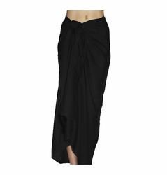 SOLD OUT Santiki Full Sarong - Black