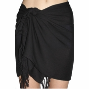 SOLD OUT Santiki Short Sarong - Black