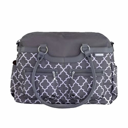 JJ Cole Collections Satchel Diaper Bag -Stone Arbor