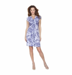 SOLD OUT Seraphine Blossom Knot Front Maternity and Nursing Dress