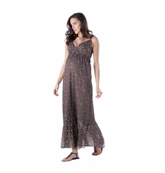 SOLD OUT Seraphine Matilda Bohemian Printed Maternity Nursing Maxi Dress