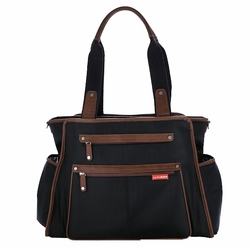 SOLD OUT Skip Hop Grand Central Tote Diaper Bag - Black