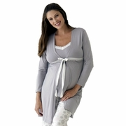 Belabumbum Starlit Maternity and Nursing Robe