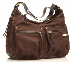 SOLD OUT Storksak Emily Diaper Bag, Chocolate