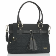 SOLD OUT Storksak Isabella Nylon Diaper Bag, Black