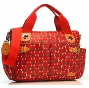 SOLD OUT Storksak Kate Diaper Bag Retro Dot Red