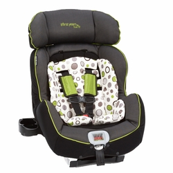 SOLD OUT The First Years True Fit Reclining Convertible Designer Car Seat - Abstract O's