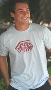 "SOLD OUT  ""The Man Behind The Belly"" Daddy Tee by 2 Chix"