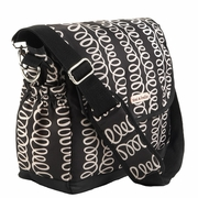 SOLD OUT Timi And Leslie Canvas Messenger Diaper Bag - MacKenzie