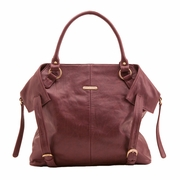 SOLD OUT Timi And Leslie Charlie Diaper Bag Tote - Burgundy