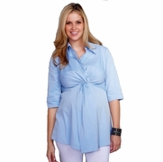 SOLD OUT Twisted Front Maternity Tunic by Maternal America