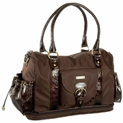 Storksak Alison Diaper Bag - Chocolate