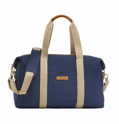 Storksak Bailey Weekender Diaper Bag Set - Navy