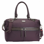 Storksak Caroline Nylon Fabric Diaper Bag - Mulberry