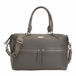 SOLD OUT Storksak Caroline Nylon Fabric Diaper Bag - Storm Grey