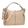 Storksak Catherine Luxury Leather Diaper Bag - Almond