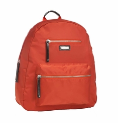 Storksak Charlie Backpack Diaper Bag - Orange