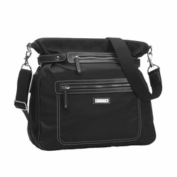 SOLD OUT Storksak Claire Nylon Convertable Backpack Diaper Bag - Black